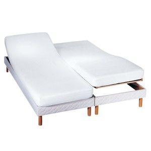 Blancheporte Ochrana matrace pro polohovací lůžko, absorpční bílá 160x200cm