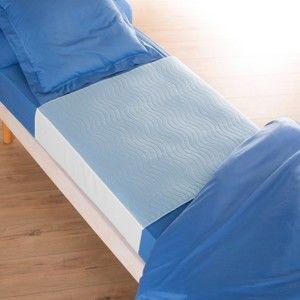 Blancheporte Ochranná podložka na matraci s klopami, nepropustná bílá 90x75+záložka