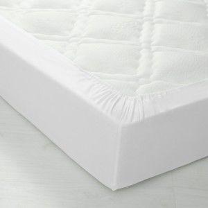 Blancheporte Žerzejové napínací prostěradlo bílá napínací prostěradlo 90x190cm
