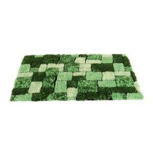 Blancheporte Koupelnová předložka, Mozaika zelená WC 50x40cm