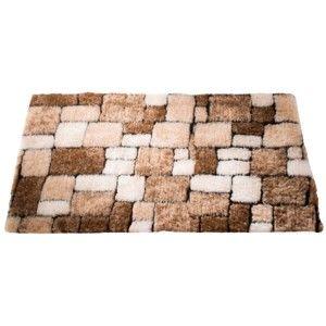 Blancheporte Koupelnová předložka, Mozaika kaštanová 60x100cm