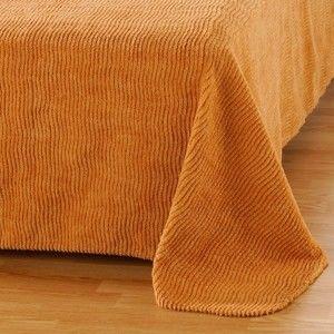 Blancheporte Přehoz na postel, kvalita standard sv.hnědá 220x250cm