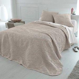 Blancheporte Přehoz na postel Melisa šedobéžová 160x250cm