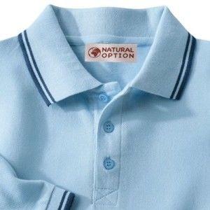 Blancheporte Polo tričko s krátkými rukávy nebeská modrá 147/156 (5XL)