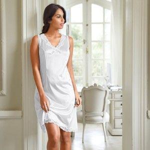 Blancheporte Antistatická spodnička, 2 délky na výběr bílá 54 (95cm)