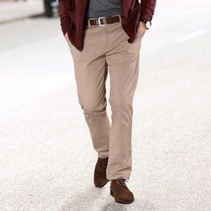 Blancheporte Gabardénové chino kalhoty béžová 52
