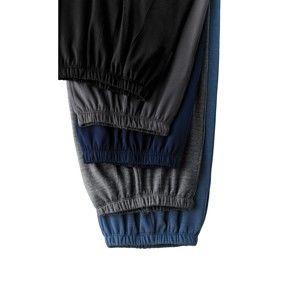 Blancheporte Meltonové kalhoty šedý melír 64/66