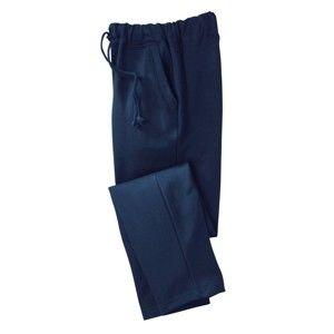 Blancheporte Meltonové kalhoty, rovný spodní lem nám. modrá 36/38