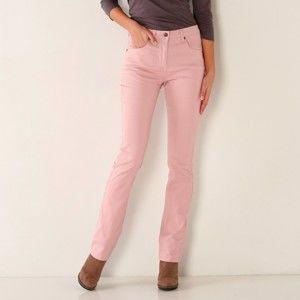 Blancheporte Tvarující kalhoty s 5 kapsami růžová 38