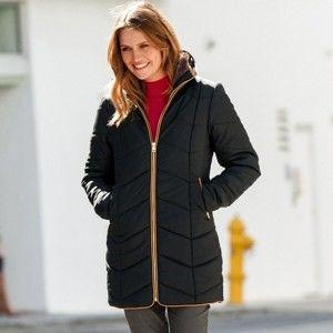 Blancheporte Dlouhá bunda s aspektem kožešiny černá 36