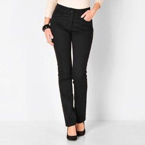 Blancheporte Zeštíhlující kalhoty, menší postava černá 52