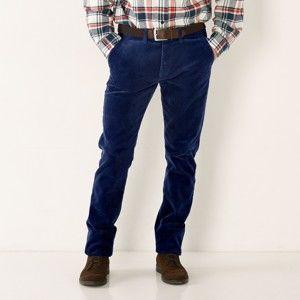 Blancheporte Manšestrové kalhoty námořnická modrá 48