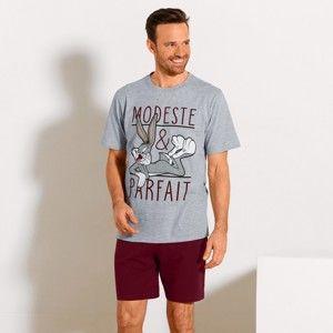 Blancheporte Pyžamo Bugs Bunny: tričko s krátkými rukávy a šortky 97/106 (L)