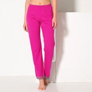 Blancheporte Pyžamové kalhoty, jednobarevné nebo s potiskem indická růžová 54