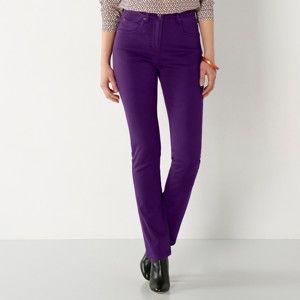 Blancheporte Tvarující kalhoty s 5 kapsami švestková 48