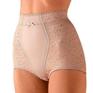 Blancheporte Stahující kalhotky s vysokým pasem tělová 48