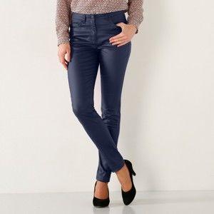 Blancheporte Kalhoty v koženém vzhledu nám. modrá 38