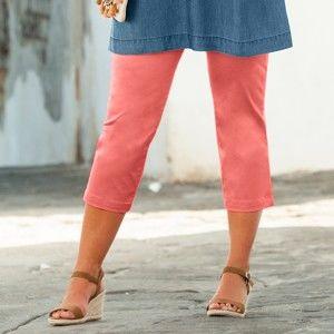 Blancheporte 3/4 kalhoty hebké na dotek meruňková 52