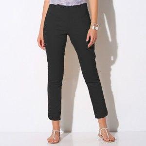 Blancheporte 7/8 ultra strečové kalhoty černá 42