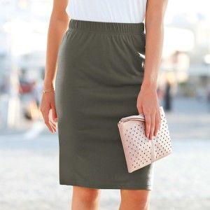 Blancheporte Rovná sukně bronzová 42/44