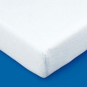 Blancheporte Meltonová absorpční ochrana matrace 400g/m2, 30 cm bílá 140x190cm potah, roh 30cm