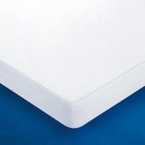 Blancheporte Nepropustný návlek na matraci, melton bílá 140x190cm