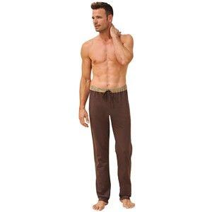 Blancheporte Domácí kalhoty, sada 2 ks čokoládová+hnědošedá 44/46