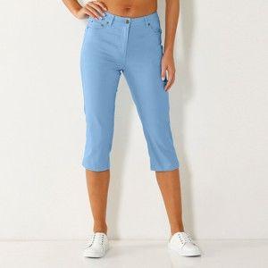 Blancheporte Korzárské slim džíny nebeská modrá 50