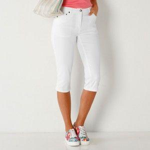 Blancheporte Korzárské slim džíny bílá 36