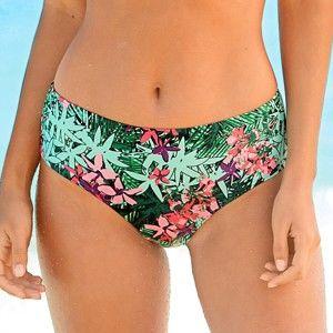 Blancheporte Plavkové kalhotky maxi, efekt plochého bříška zelená 42