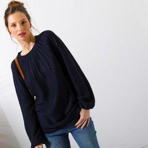 Blancheporte Originální pulovr nám.modrá 50