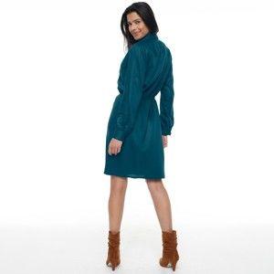 Blancheporte Krátké košilové šaty inkoustová 46