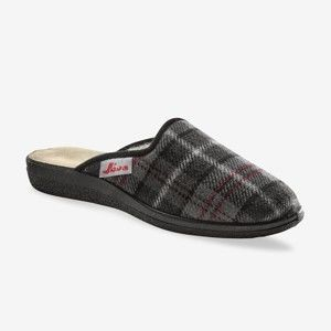 Blancheporte Domácí pantofle Jeva šedá 46