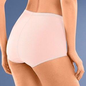 Blancheporte Kalhotky maxi Basic Sloggi, sada 3 ks růžová+šedá+modrá 48