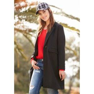 Blancheporte Polodlouhý kabát černá 36/38