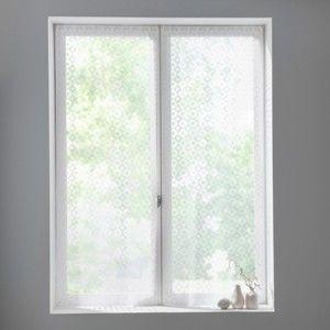 Blancheporte Vitrážové záclonky rovné, sada 2 ks bílá 44x120cm