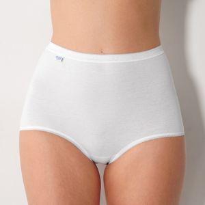 Blancheporte Kalhotky Sloggi, střih maxi, 3+1 zdarma* bílá 40