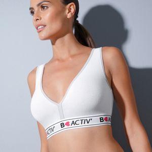 Blancheporte Sportovní podprsenka s plaveckými zády bílá 56