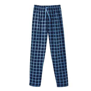 Blancheporte Pyžamové kalhoty, kostkované indigo/modrá 68/70