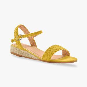 Blancheporte Sandály se splétáním, žluté žlutá 38