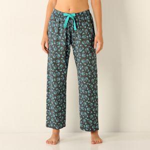 Blancheporte Pyžamové kalhoty, žerzej bl.modrá/šedá 54