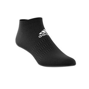 Blancheporte Černé kotníčkové ponožky, sada 3 párů černá 34/36