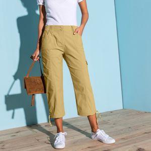 Blancheporte 3/4 kalhoty s úpletovým pásem anýzová 38