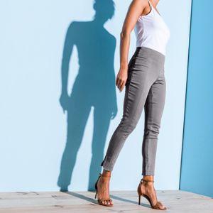 Blancheporte 7/8 tvarující kalhoty šedá 50