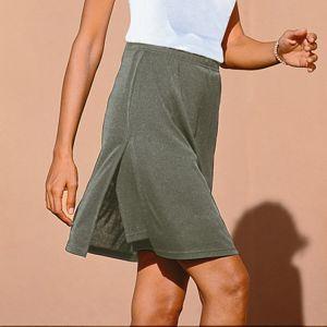 Blancheporte Kalhotová sukně khaki 44