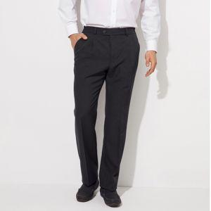 Blancheporte Kalhoty s pružným pasem, bez záševků, polyester černá 50