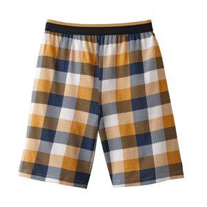 Blancheporte Pyžamové šortky, kostkovaný vzor kostka 36/38