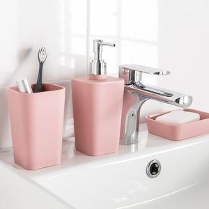 Blancheporte Kelímek na zubní kartáčky růžová pudrová