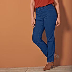 Blancheporte Rovné džíny tmavě modrá 48
