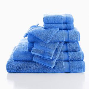 Blancheporte Jednobarevné froté 540g/m2 confort luxe tmavě modrá osuška 90x150cm